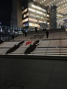 グランフロント階段